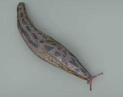 great slug 3d model max obj mtl
