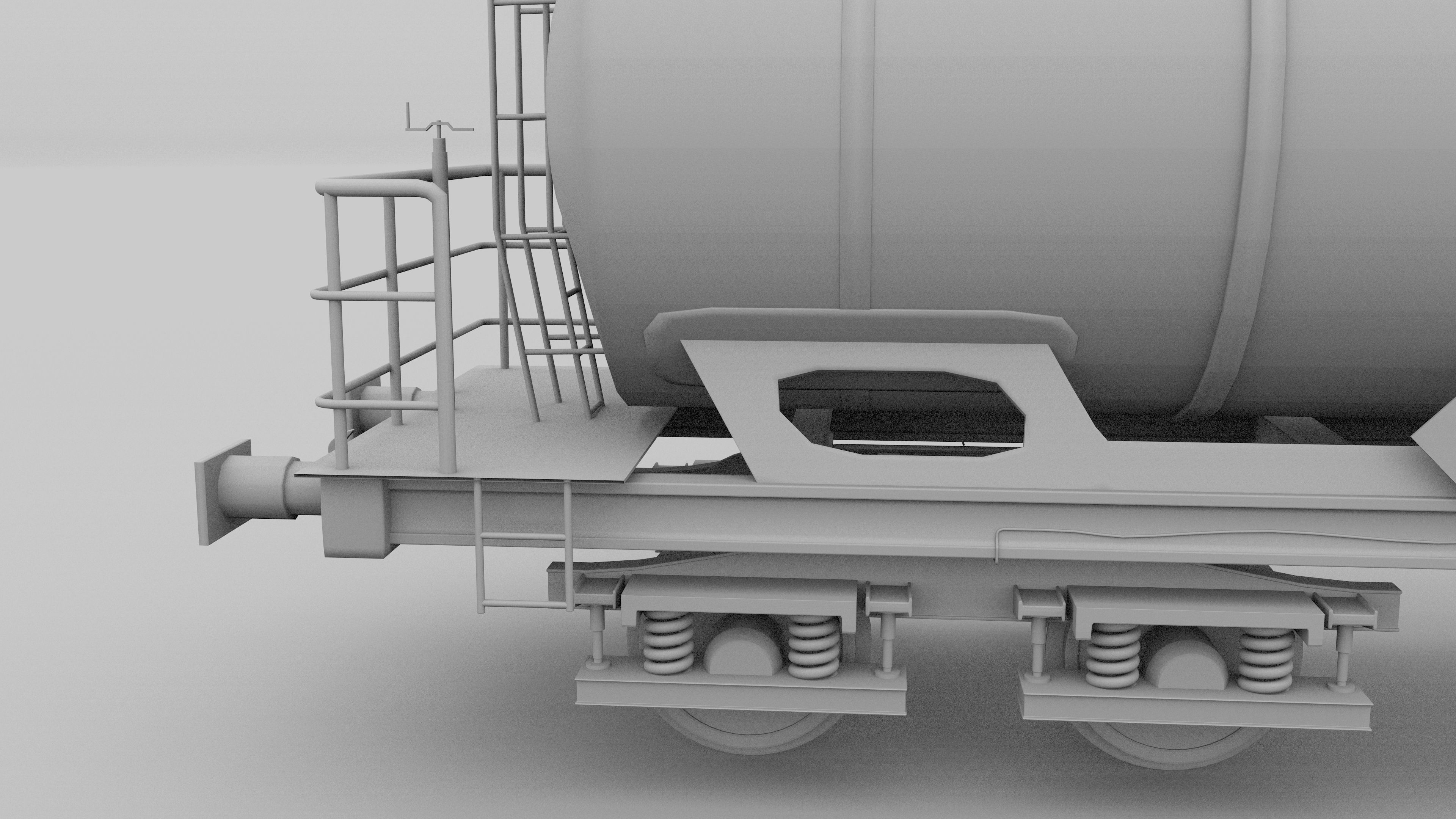 Train Tanker Car 3d Cgtrader