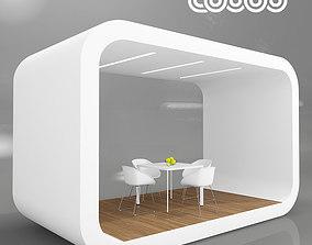 3D model Coodo Pavilion White Edition
