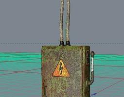 fusebox 3d model low poly obj fbx fusebox 3d models download 3d fusebox files cgtrader com 3d printed fuse box at mifinder.co