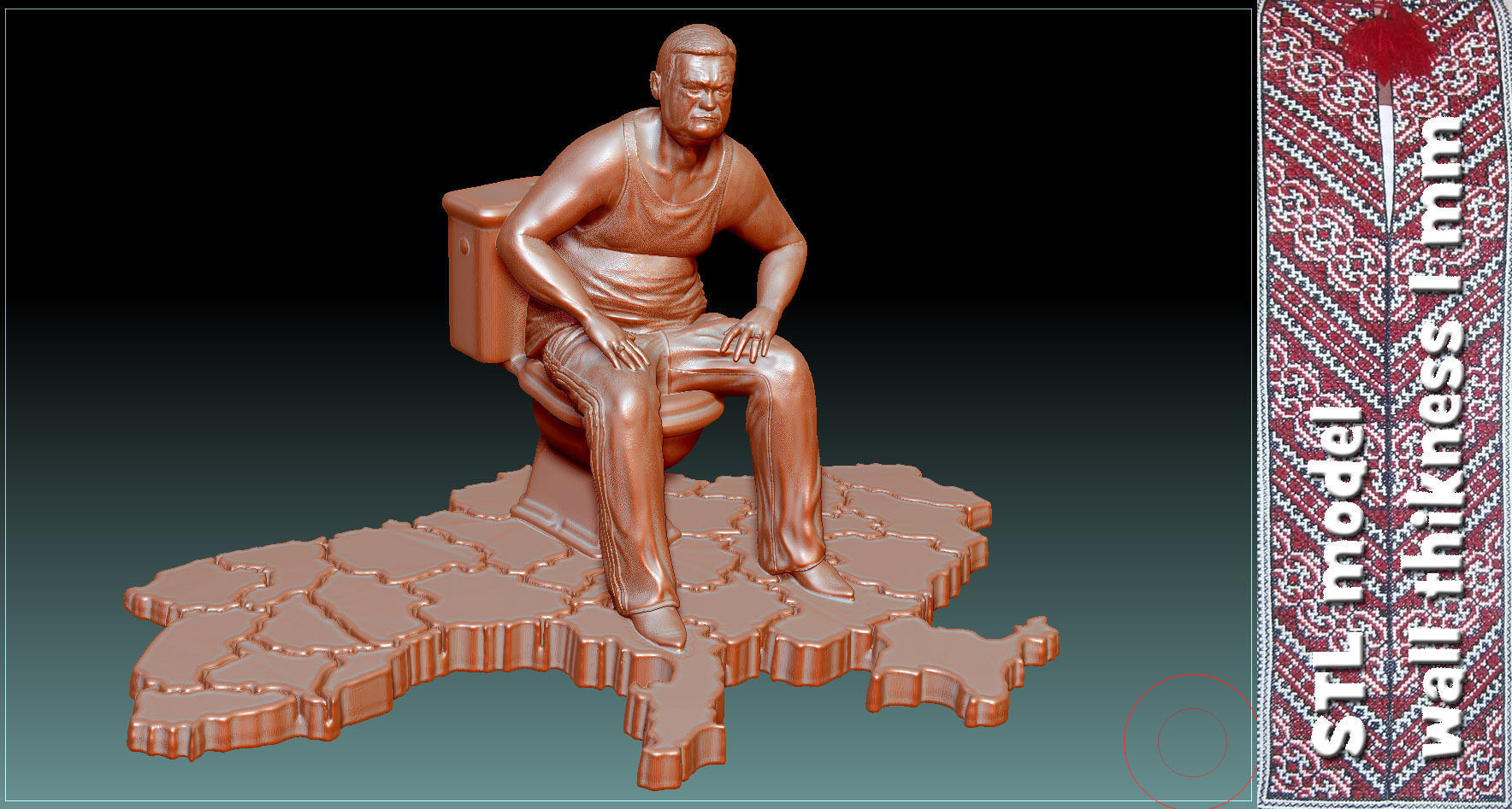 Monument to corruption stl