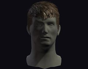 3D asset hair style 8