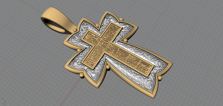 Cross Jesus 3D Model 3D printable STL | CGTrader.com