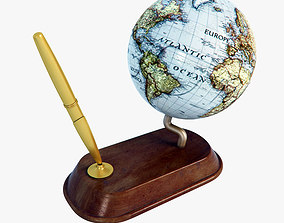 3D Earth Pen Holder