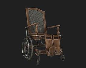 3D model game-ready PBR WheelChair