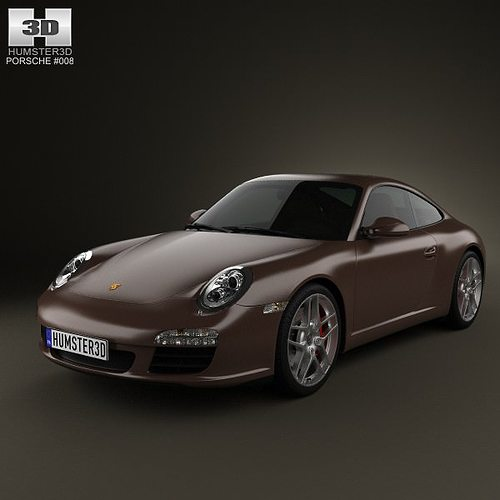 porsche 911 carrera s coupe 2011 3d model max obj mtl 3ds fbx c4d lwo lw lws 1