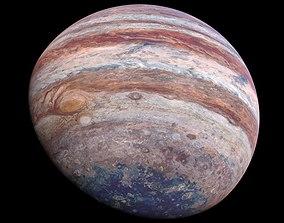 Photorealistic Jupiter 16k textures 3D model