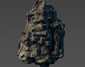 Cliff rock module 3D asset