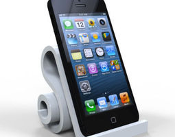 3d printable model iphone 5 stands
