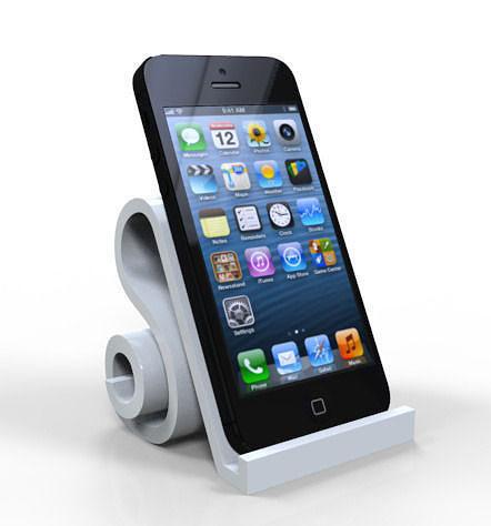 iphone 5 stands 3d model stl 1