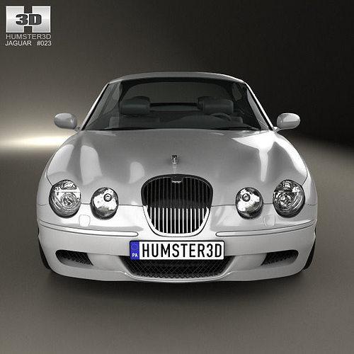 Exceptional Jaguar S Type 2008 3d Model Max Obj Mtl 3ds Fbx C4d Lwo Lw Lws