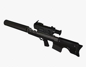 3D model Vyhlop Sniper Rifle