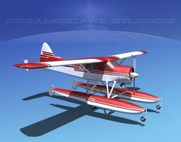 Dehavilland DHC-2 Beaver V12 3D model