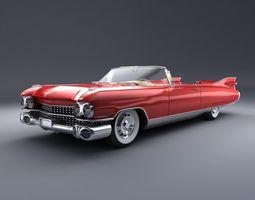 3D Caddy Eldorado 1959 Studio Scene