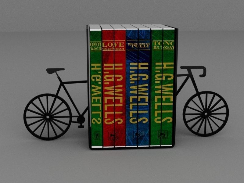 Bicycle bookholder