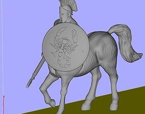 Centaur 3D print model horse