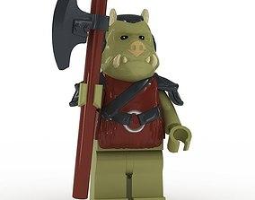 LEGO Minfigure Gamorrean Guard 3D model