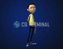 3D model Kevin Rig v1 0