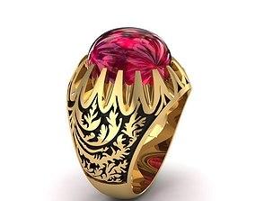 3D print model 27 Luxury Ruby Ring