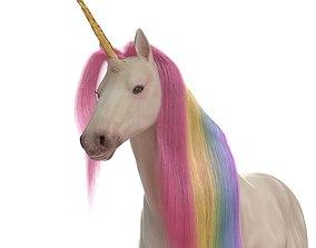 Unicorn mammal 3D model