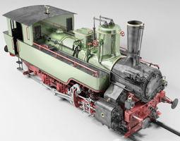 3d mav 475 steam locomotive tank engine