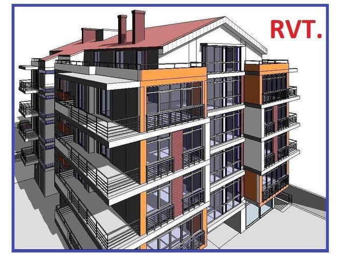 Building Design Apartment High Detail Model Revit | 3D model
