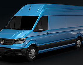 3D model WV Crafter Van L4H3 2017