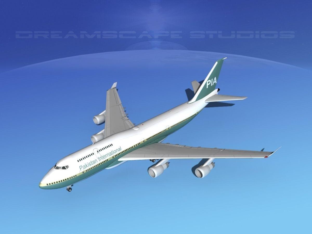 Boeing 747-400 Pakistan
