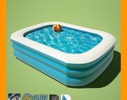 3D model Kiddie Pool 1
