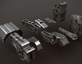 kit bash parts 3D