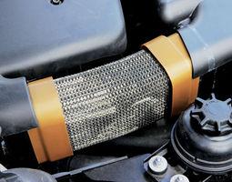 BMW E90 E91 M47N2 Rubber Boot Ends 3D Model
