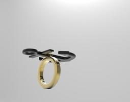 Anchor Ring 3D print model