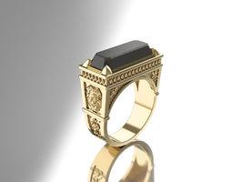 Lions pride ring - 2 sizes same price 3D printable model