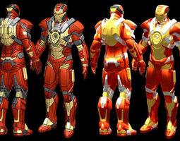 Iron Man MK17 STL 3D printable model