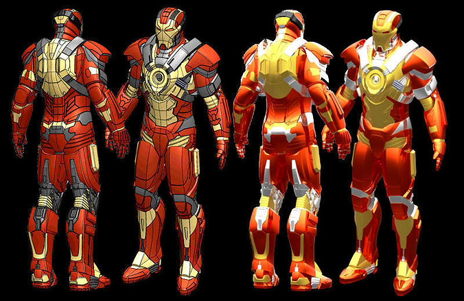 Good Iron Man Mk17 Stl 3d Model Stl 1 ...