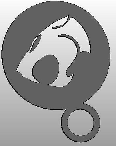 Coffee Stencil - ThunderCats Logo
