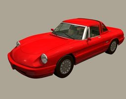 ALFA ROMEO SPIDER 3D model