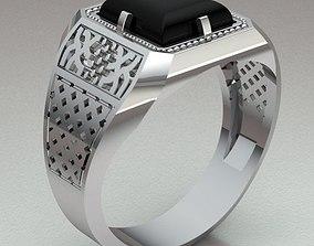 3D printable model gif Ring Man