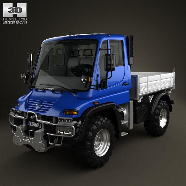 Mercedes-Benz Unimog U300 2012 3D model | CGTrader