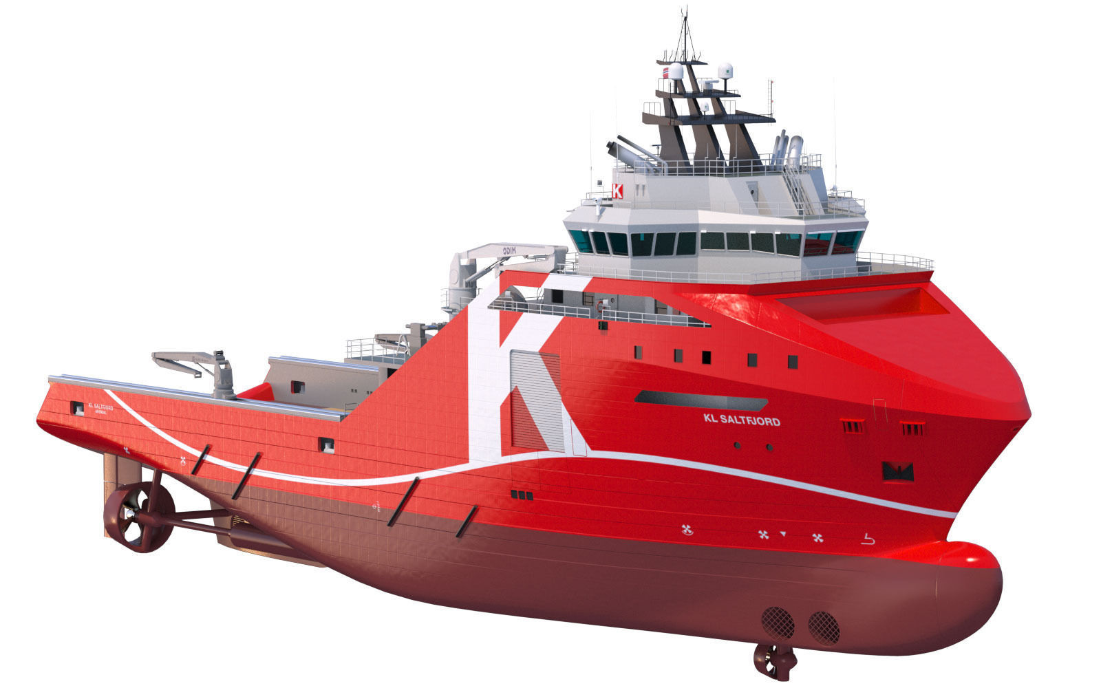 95 m AHTS Supply Vessel KL SALTFJORD