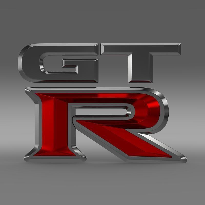Gtr Logo Model Max Obj Mtl S Fbx C4d Lwo Lw Lws 2