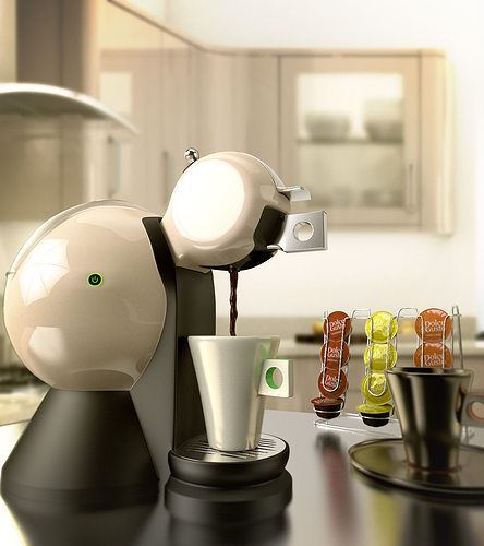 Dolce Gusto Coffee Maker 3d Cgtrader