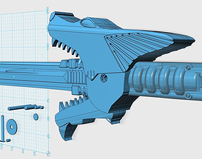 3D print model Power Rangers SPD shadow saber sword