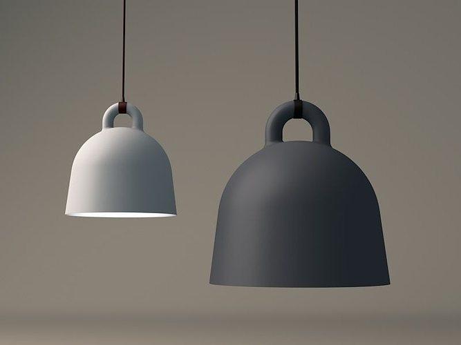 3d Model Bell Lamp By Normann Copenhagen Cgtrader