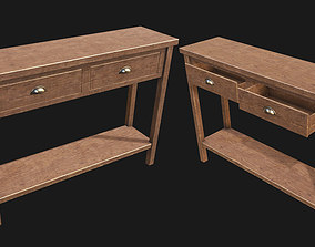 End Table 02 PBR 3D model