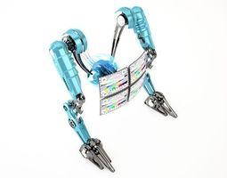 3D model Robot 4TV