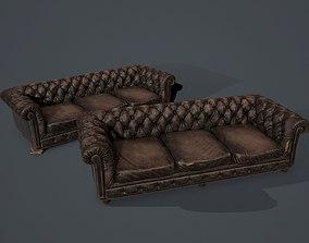 3D model Old sofa
