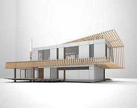 K3 house 3D model
