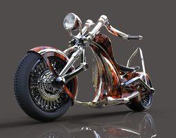 Electric chopper 3D
