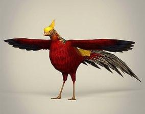 Fantasy Bird 3D model